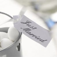 'Just Married' Favours Tags